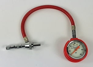 Freedom Self-Contained EZ-Rapid Tire Deflation Tool with Gauge