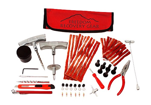 Freedom Recovery Gear  Off Road Tire Repair Kit with ergonomic curved handles